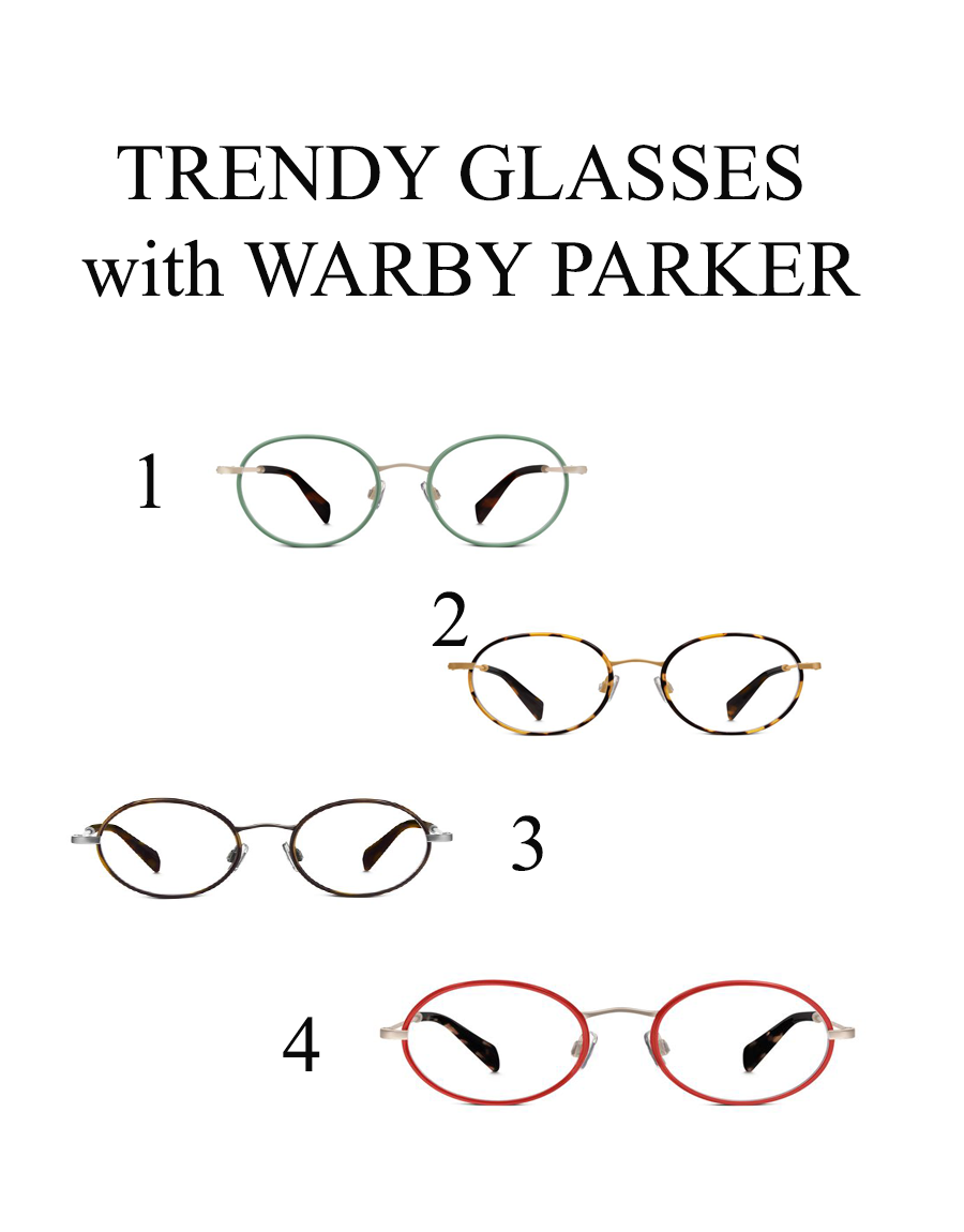 Spring 2016 glasses from Warby Parker