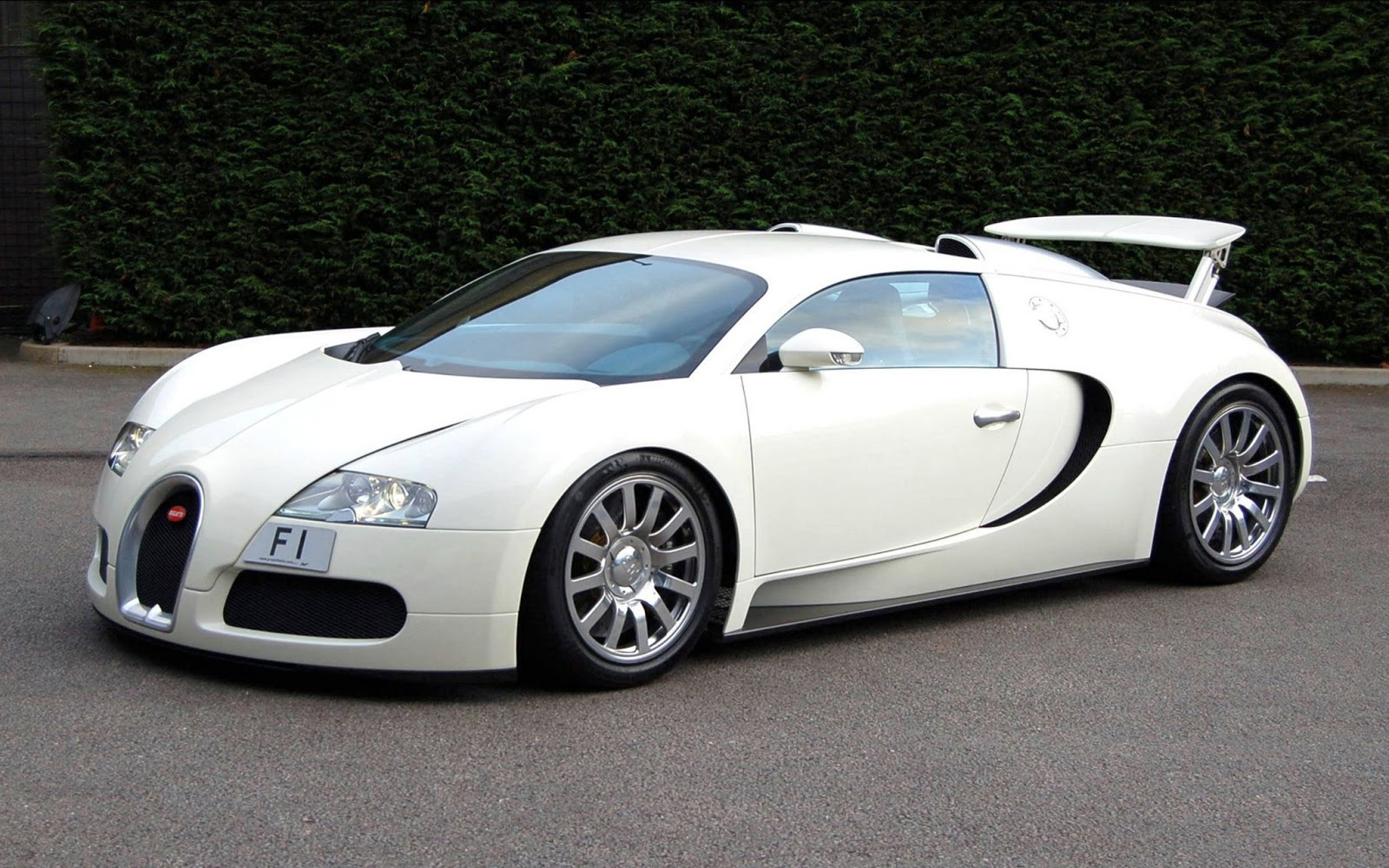 Sports Cars: Bugatti Veyron White