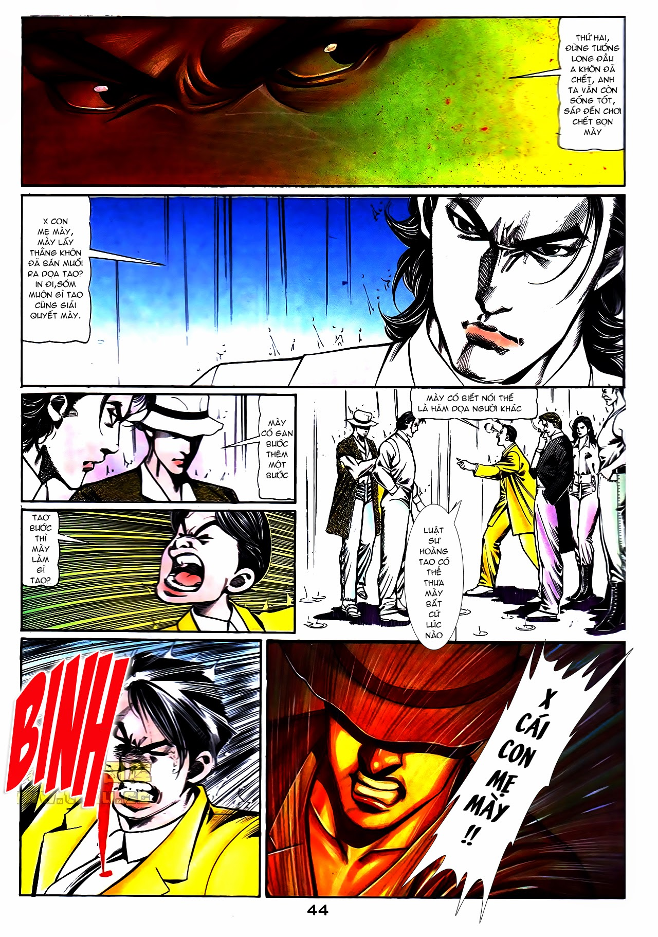 Người Trong Giang Hồ chapter 108: phong vũ cố nhân lai trang 19