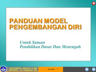 Panduan Model Pengembangan Diri Siswa di SD, SMP, SMA (Edisi KTSP)