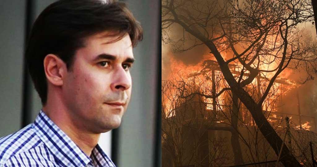 Τσιάρτας: «Νεκροί από πλημμύρες, τώρα και από φωτιές. Καμιά παραίτηση παίζει;»