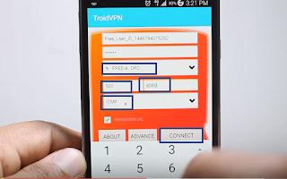 1- تطبيق TroidVPN - Android VPN: