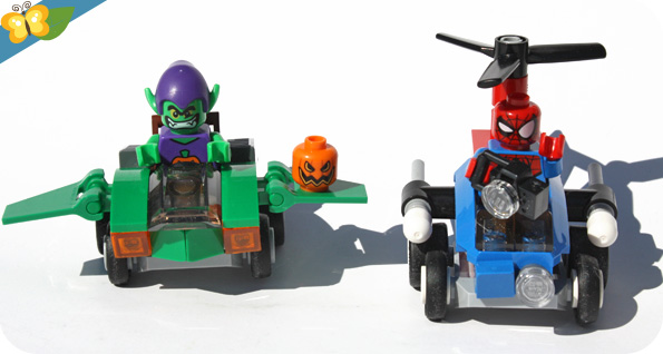 Lego Mighty Micros : Spider-Man contre le Bouffon Vert