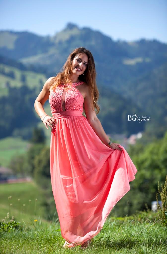 Shkëndije Haziri - Albanian beauty aiming Miss Switzerland