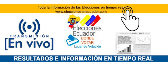 Resultados elecciones 2017 ecuador cne en VIVO