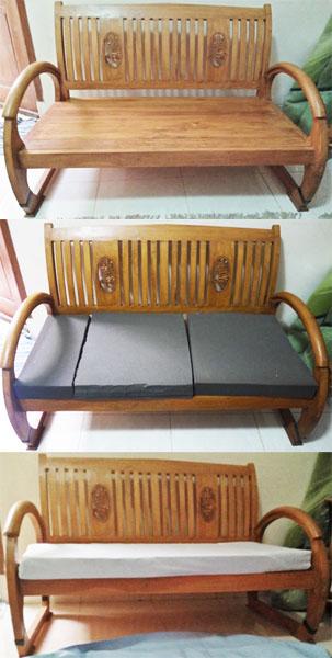 bangku panjang atau bench