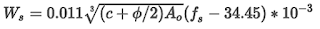 Gergely and Lutz Equation