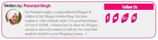 Responsive & Stylish Multi-Author Bio (Info) Box Widget for Blogger