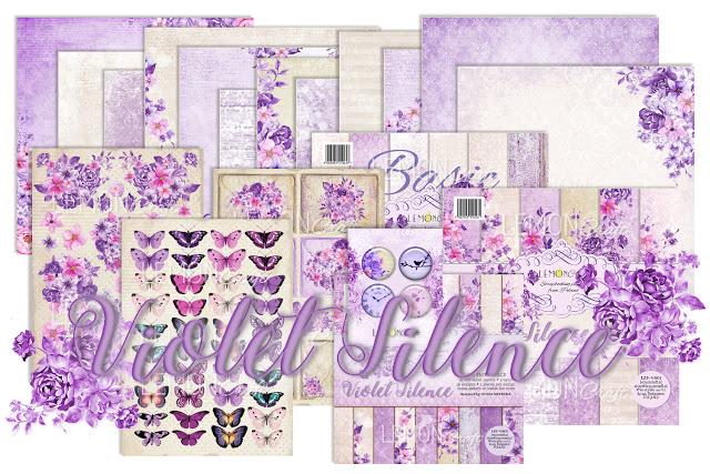 """Zwycięzcy candy z kolekcją """"Violet Silence"""". / Winners of 'Violet Silence' candy."""