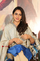 Actress Rakul Preet Singh Stills in Blue Salwar Kameez at Rarandi Veduka Chudam Press Meet  0042.JPG