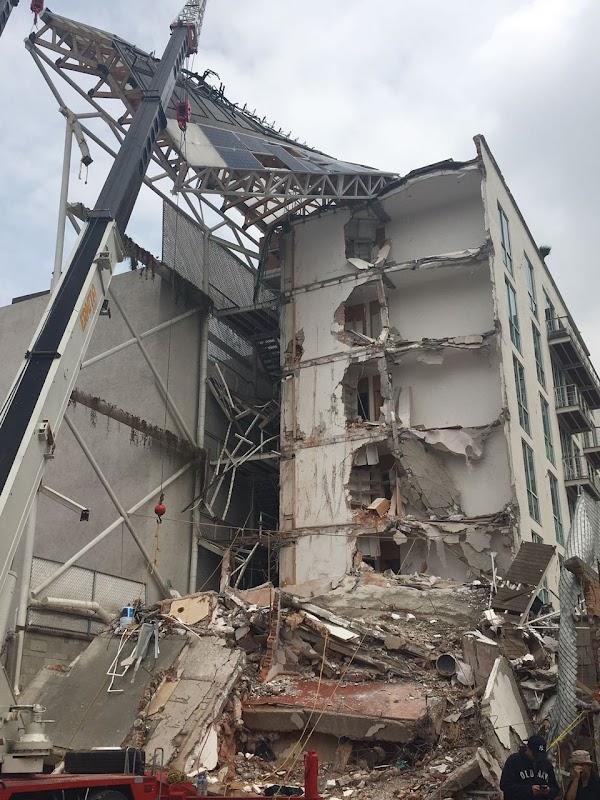 Edificio colapsado en la Portales fue construido con materiales de mala calidad