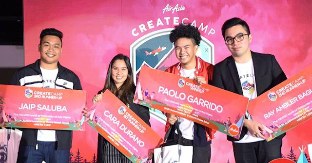 CreateCamp 2017 winners