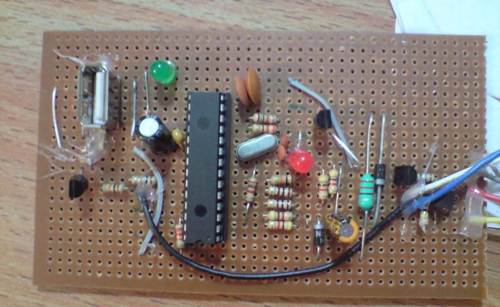 Homemade USB PIC Programmer - PICKIT2 Lite Incredible DIY
