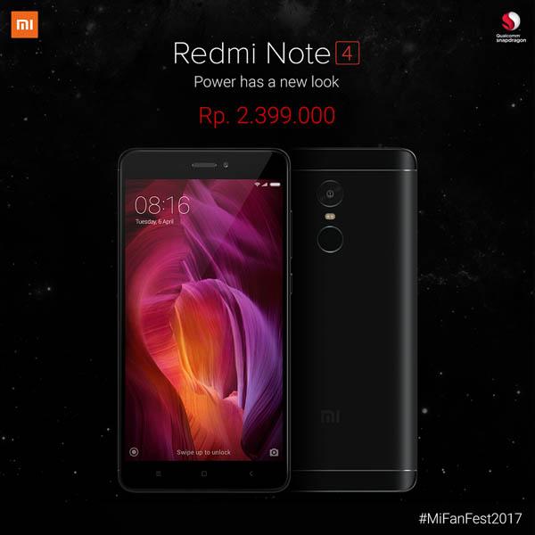 Xiaomi Redmi Note 4 Resmi Dijual Di Indonesia Rp 2.4 Juta