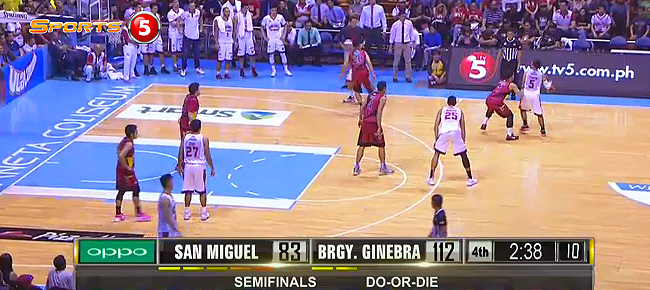 HIGHLIGHTS: Ginebra vs. San Miguel (VIDEO) October 4 - Semis Game 5