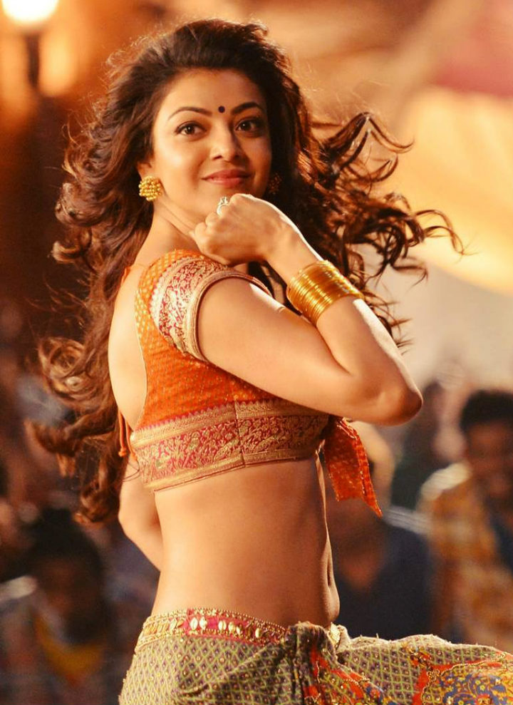 Kajal Agarwal In Janatha Garage Pakka Local Song - South -3660