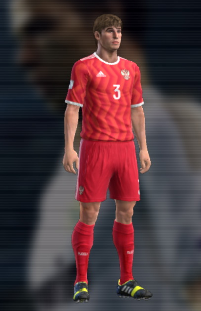 PES 2013 Russia home kit 2017 by Auvergne81