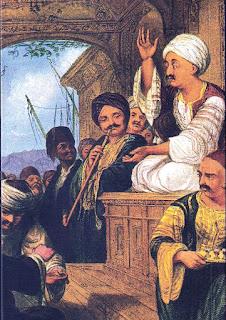 Meddah atlikimas kavos namuose, Osmanų imperija