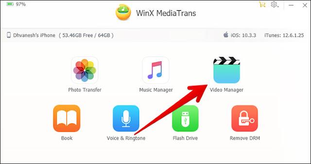 بدون iTunes نقل الصور والفيديوهات والموسيقى إلى هاتف iPhone