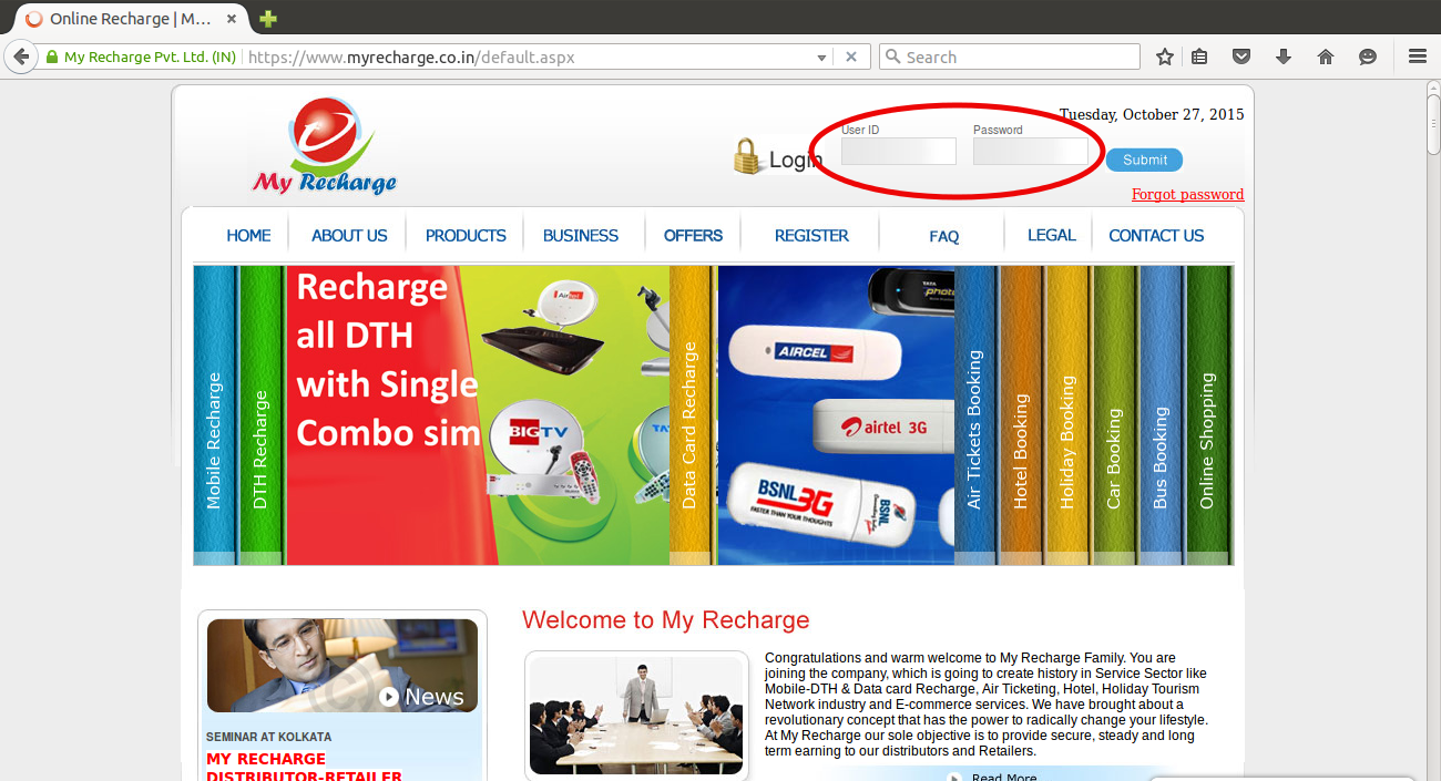 myrecharge co in - Add Top Up Credit through SBI Anywhere