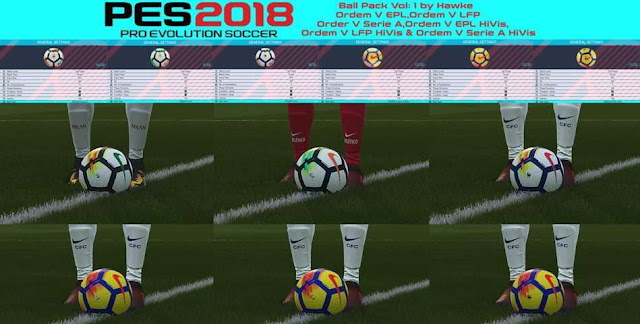 Ball Pack PES 2018