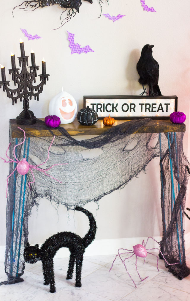 Spooky Halloween Foyer Ideas | Design Improvised
