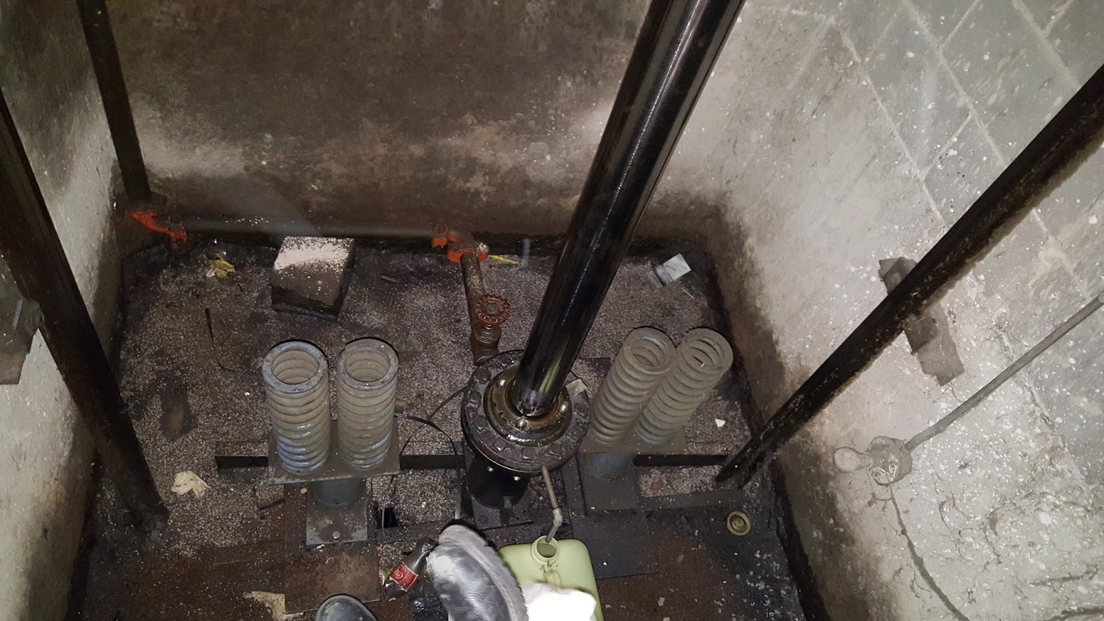 Water Pump Car Cost >> Chicago Elevator Maintenance - Colley Elevator: Hydraulic ...