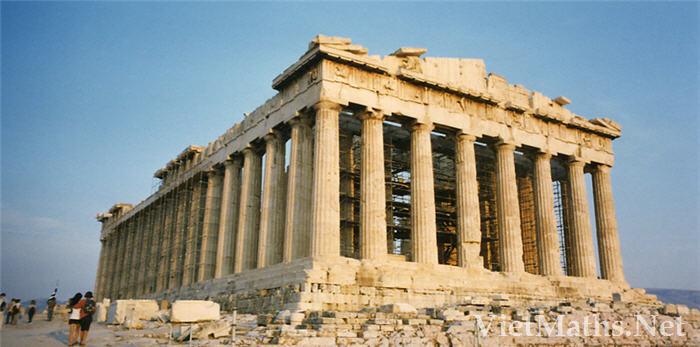 ảnh đền thờ Parthenon ở Athens Hy Lạp