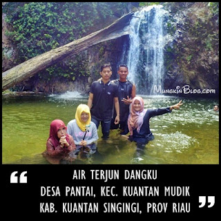 air terjun dangku