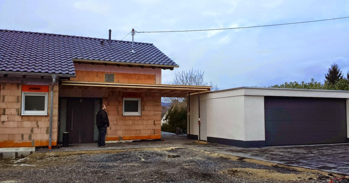 unser architektenhaus in ak vordach 1 0. Black Bedroom Furniture Sets. Home Design Ideas