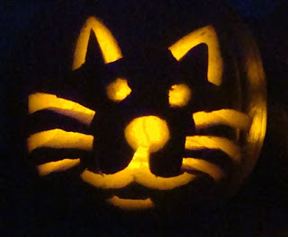 cat cats pumpkin carving decorating