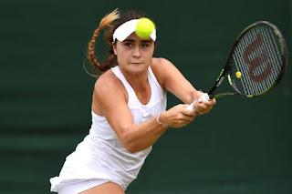 British tennis player Gabriella Taylor sick in hospital from rat urine