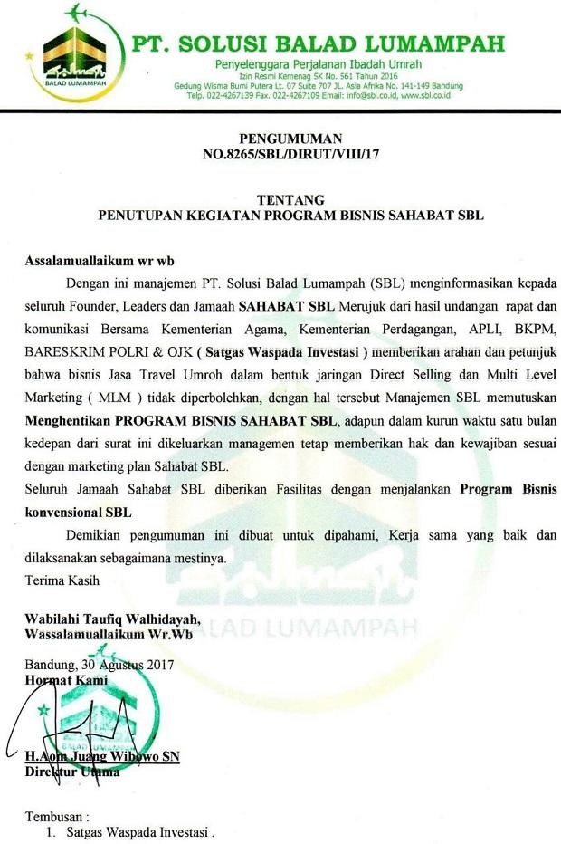 FKJ SBL Keberatan Atas Tindakan Polda Jabar