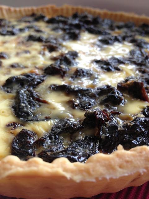 Sweet Kwisine, tarte, pruneaux,