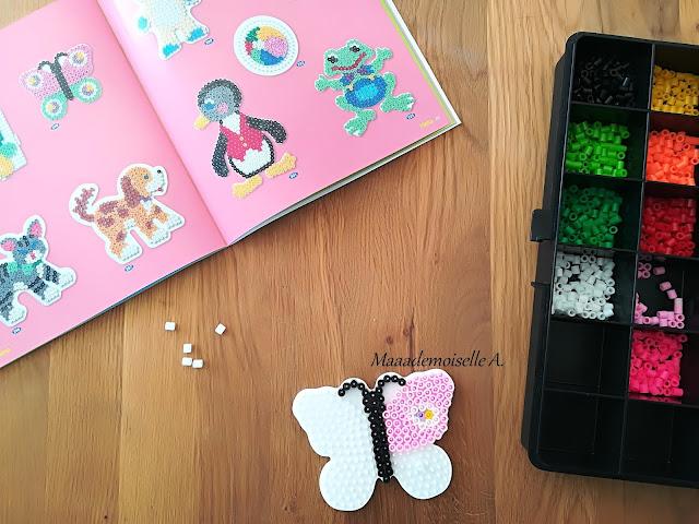|| Nos activités sur les papillons : Perles Hama