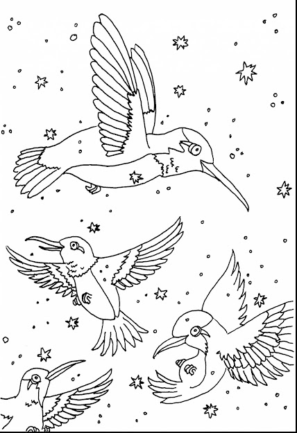 Good Hummingbird Birds Coloring Pages With Hummingbird Coloring Pages And  Hummingbird Coloring Book Pages
