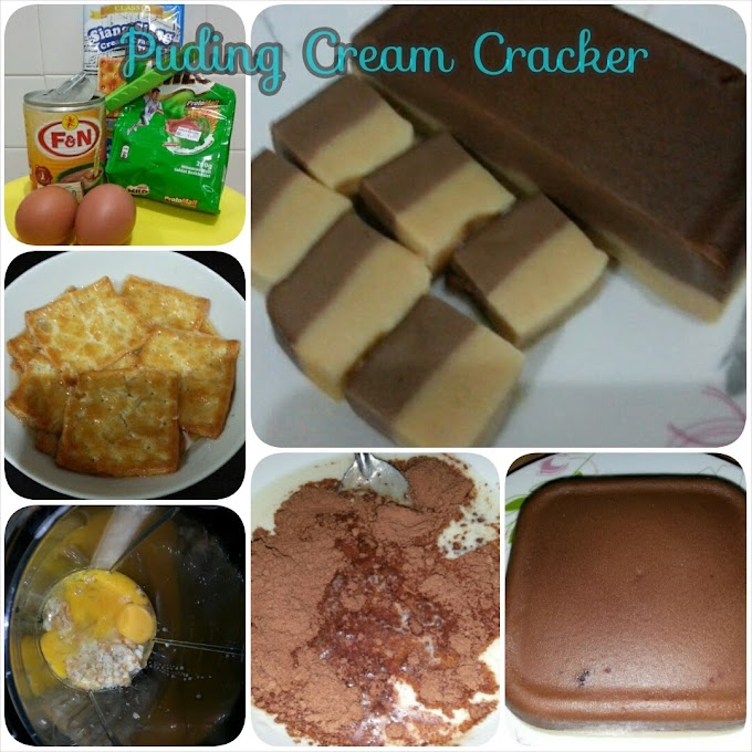 Resepi :: Puding Cream Cracker