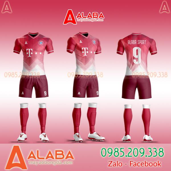 Áo Bayern Tự Thiết Kế Đẹp 2019 mã ALB BA08