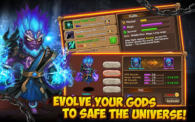 The Battle of Gods-Apocalypse Apk v3.0.0 Mod Hack for Android