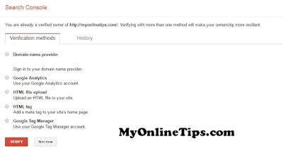 Submit Blogger Sitemap