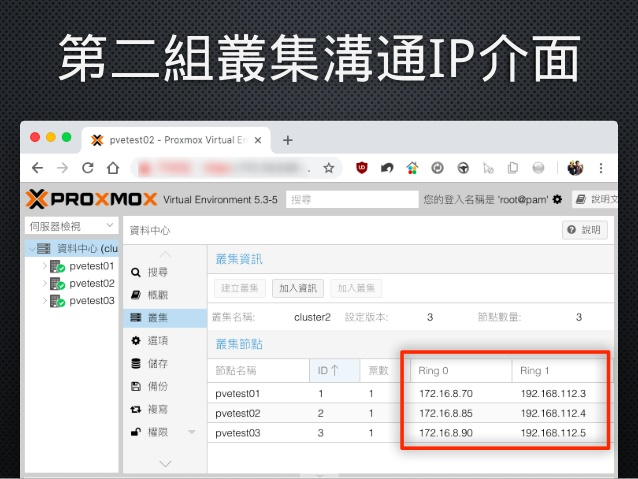 節省工具箱Jason Tools: [經驗分享]為Proxmox VE 節點加入叢集連線備援介面