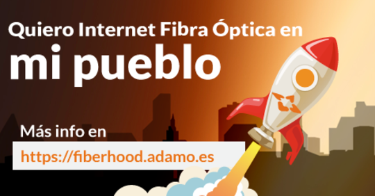 Operadores virtuales como Adama, Comunitelia, HolaFibra o Ahí+ ofrecen fibra óptica donde otros operadores no llegan.