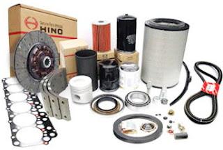 Phụ tùng xe tải Hino WU342- Lọc nhiên liệu tinh-23304-EV030
