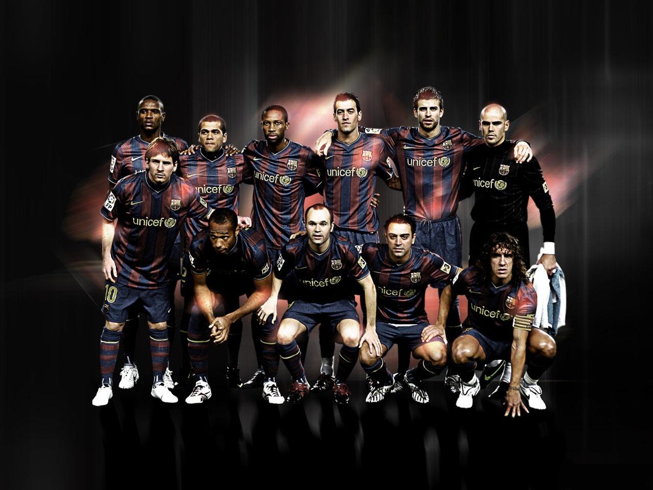 Sport Wallpaper Fc Barcelona: All Wallpapers: FC Barcelona Team Cool HD Wallpapers 2013