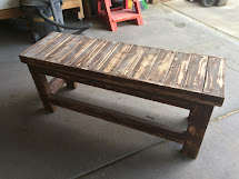 Timbo' Creations Spare 2x4 Project Benchtop Table