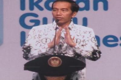 Jokowi Minta Guru Tekankan Nilai Etika Pada Siswa