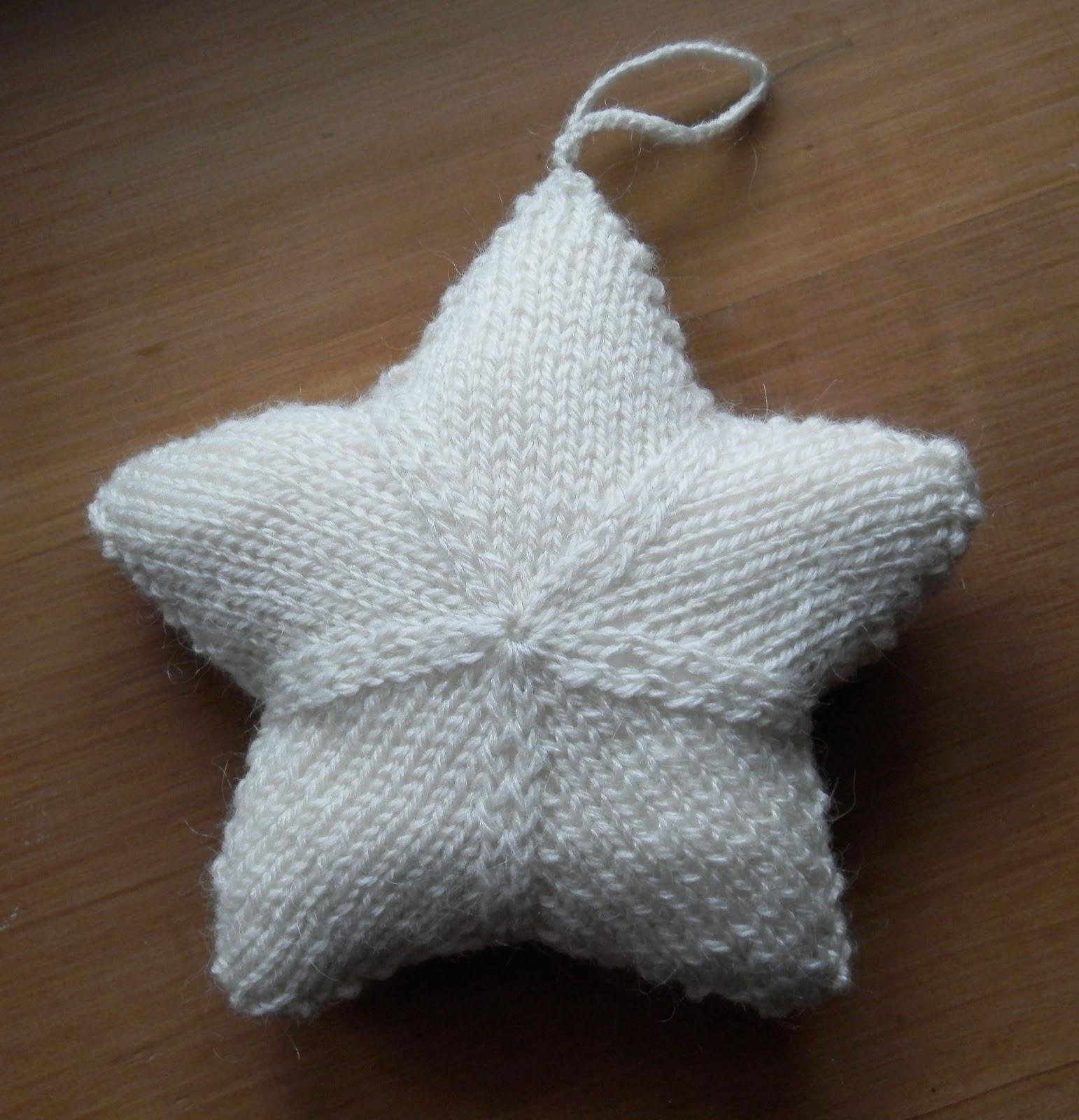 Brodeuse bressane etoile tricot - Faire une boutonniere au tricot ...