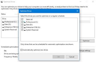 Cara Defrag Hardisk secara Otomatis di Windows 10