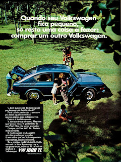 propaganda Volks 1600 TL - 1971, brazilian advertising cars in the 70s; os anos 70; história da década de 70; Brazil in the 70s; propaganda carros anos 70; Oswaldo Hernandez;.