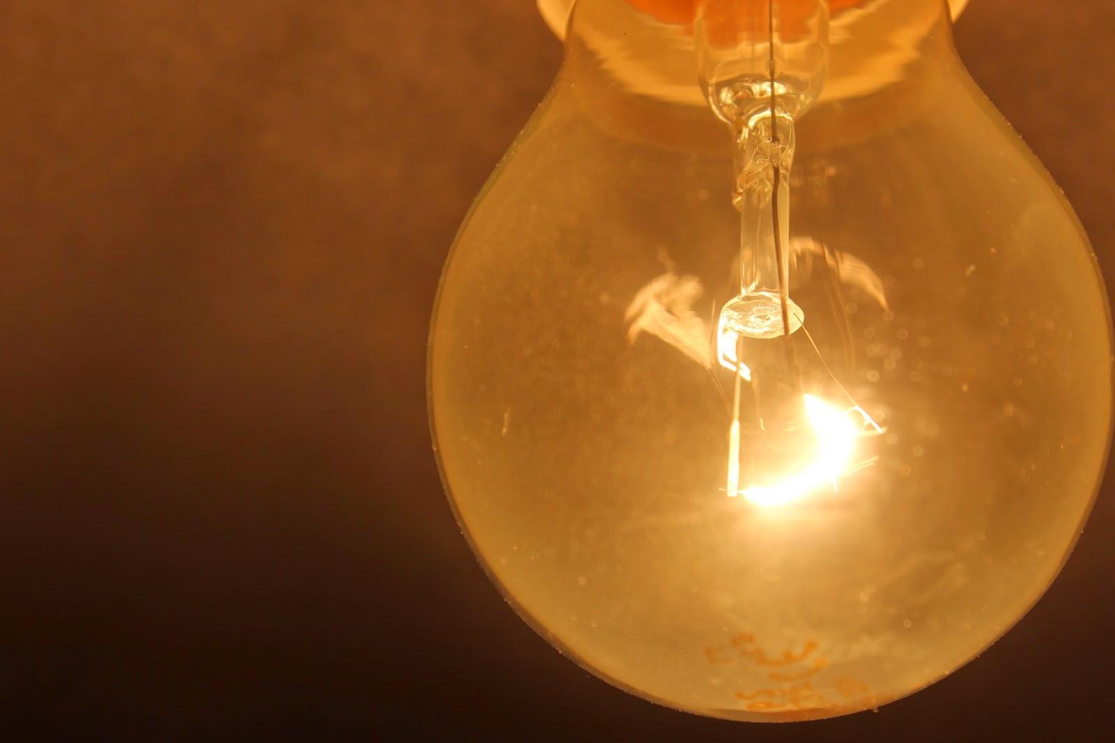 Instalaciones eléctricas residenciales - lámpara incandescente